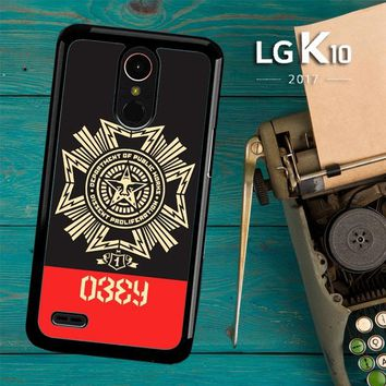 Obey Clothing O0726 LG K10 2017 / LG K20 Plus / LG Harmony Case