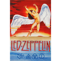 Led Zeppelin Domestic Poster