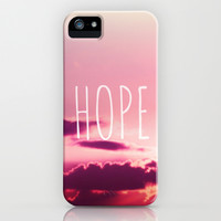 *** HOPE  *** iPhone & iPod Case by SUNLIGHT STUDIOS Monika Strigel