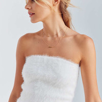 Kimchi Blue Mel Fuzzy Tube Top | Urban Outfitters