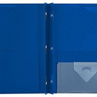 Mead Five Star Stay-put Pocket Folder (Pack of 2)assorted Color