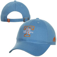 adidas Tennessee Lady Vols Basic Logo Slouch Adjustable Hat - Light Blue