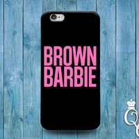 iPhone 4 4s 5 5s 5c 6 6s plus iPod Touch 4th 5th 6th Generation Cool Brown Black Pink Girly Girl Blonde Brunette Hair Cute Funny Phone Case
