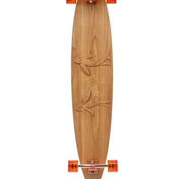 "LONG DAYS LONGBOARDS - ""THE FIGHT"" HANDMADE WOODEN LONGBOARD - LUISAVIAROMA - LUXURY SHOPPING WORLDWIDE SHIPPING - FLORENCE"