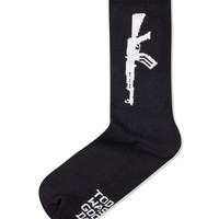 Black AK47 Sock