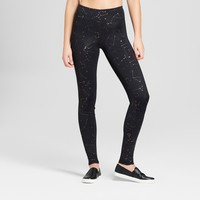 Women's Performance Constellation Print Leggings - JoyLab™ Black