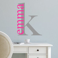 Vinyl Wall Decal- Personalized Family Name with Est. Date-Wedding Gift-Vinyl Wall Quotes