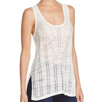 FRENCH CONNECTIONGeo Stitch Tank Top