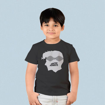 Kids T-shirt - Alex Turner Arctic Monkeys Head Logo