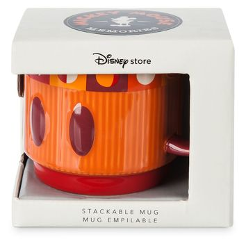 Disney Store Mickey Memories July Limited Stackable Coffee Mug New with Box