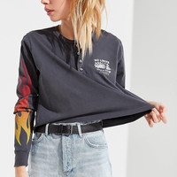 Future State Flame Henley Top | Urban Outfitters