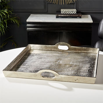 Recycled Aluminum Square Tray