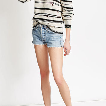 Distressed Cotton Pullover - Iro | WOMEN | US STYLEBOP.COM