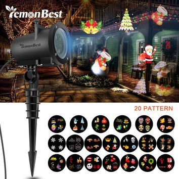 8W 12W LED Projector Landscape Holiday Lighting