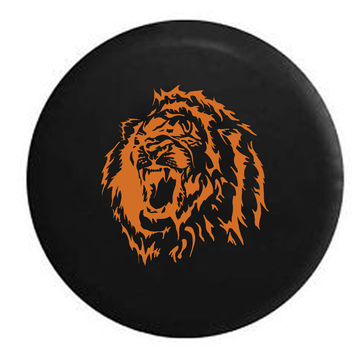 African Lion Roar RV Camper Jeep Spare Tire Cover