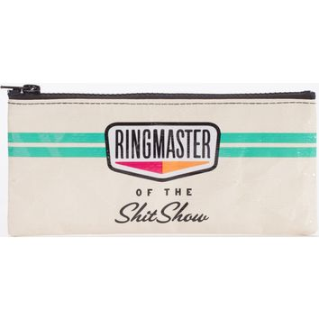 Ringmaster Of The Shitshow Pencil Case (Perfect for Pencils, Makeup, Whatever You Got!)