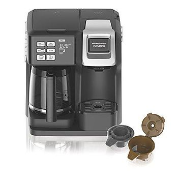 Hamilton Beach (49976) Coffee Maker, Single Serve & Full Coffee Pot