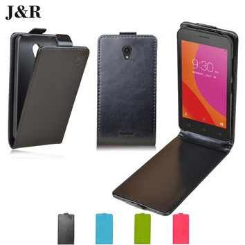 JR Flip Leather Case For Lenovo A1010 Luxury Cover For Lenovo A Plus (A1010A20) Case 4.5'' Verticel Magnetic Mobile Phone Shell