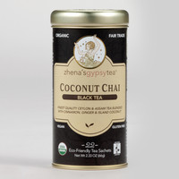 Zhenas Gypsy Tea Coconut Chai Tea, Set of 6 - World Market