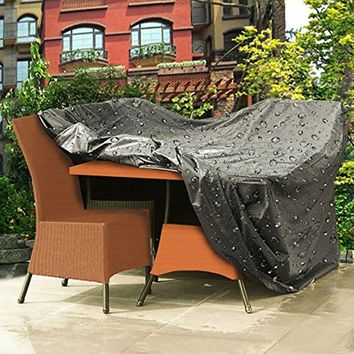 "Waterproof UV Resistant Patio Garden Furniture Cover;  47""x 47""x 29"""