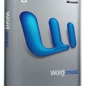 Microsoft Word 2004 for Mac (Upgrade)