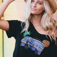 Life Clothing Women's Vintage Fashion Graphic Tees With Lovin Life