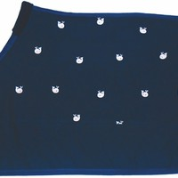 Equine Couture Whales Cotton Sheet