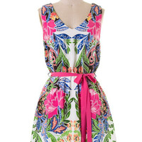 Tropical Jungle Dress