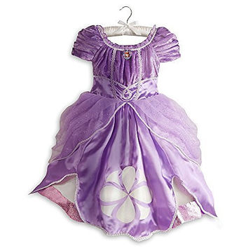 Disney Store Sofia the First Costume Dress Halloween Size XS 4 4T