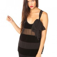 Velvet Stripe Tank | NASTY GAL | Jeffrey Campbell shoes, Evil Twin, MinkPink, BB Dakota, vintage dresses + more!