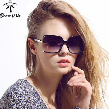 New Fashion Big Frame Square Sunglasses Women Brand Designer Hollow Sun Glasses Female Sun Glasses UV 400 Oculos De Sol Gafas