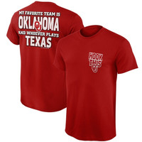 Oklahoma Sooners My Favorite Team T-Shirt – Crimson