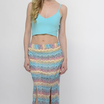 Caribbean Haven Maxi Skirt