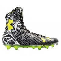 Under Armour Black/Grayr Highlight Cleats | Lacrosse Unlimited