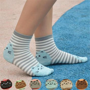 Stripes Funny Animal Socks Funny Crazy Cool Novelty Cute Fun Funky Colorful