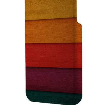 Best 3D Full Wrap Phone Case - Hard (PC) Cover with wooden wall Design