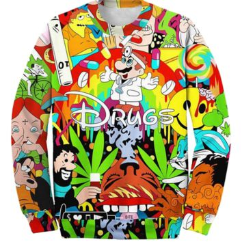 Disney Drugs Sweater
