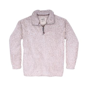 Frosty Tipped Women's Stadium Pullover in Oatmeal by True Grit (Dylan)