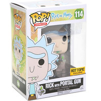 Funko Rick And Morty Pop! Animation Rick With Portal Gun Vinyl Figure Hot Topic Exclusive