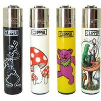 "Bundle - 4 Items - Clipper Lighter ""Dancing Bear"" Collection"
