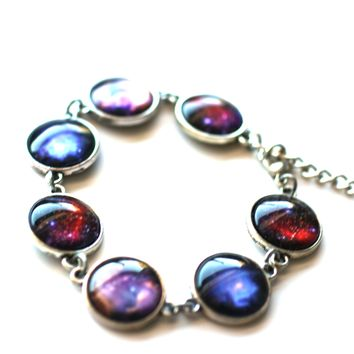 Star Dust Images 14mm Silver Plated Bracelet