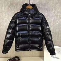 Moncler men's fashion down jacket Black