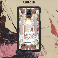 Marina And The Diamond - I Hate Everything Samsung Galaxy Note 4 Case Auroid