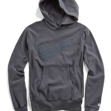 Popover Hoodie with Chainstitch Embroidery