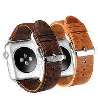 Apple Watch  Leather Watchband for Apple Watch 38mm / 42mm