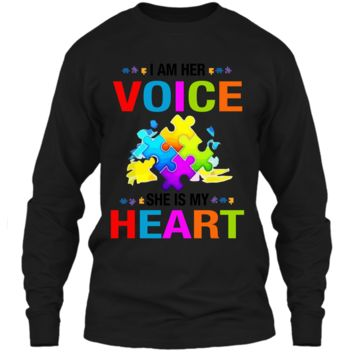 Autism Awareness Shirts For Gift Autism Mom Shirt For Woman LS Ultra Cotton Tshirt