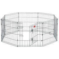 Lucky Dog, 24 in. High Heavy Duty Dog Exercise Pen with Stakes, ZW 11624 at The Home Depot - Tablet