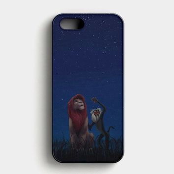 Lion King Remember Who You Are iPhone SE Case