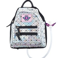 Dan-Pak Holographic Disco Mini Backpack