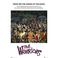THE WARRIORS POSTER Armies of the Night RARE HOT NEW 24x36